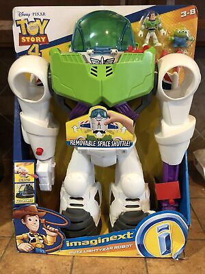 Fisher-Price Imaginext Disney Pixar Toy Story 4 Buzz Lightyear Robot GBG65 TOY