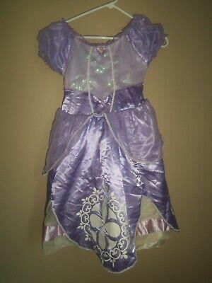 Haloween Costume Store (DISNEY STORE PRINCESS SOFIA THE FIRST PURPLE GLITTER HALOWEEN COSTUME DRESS 5)