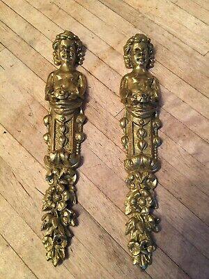 Brass French Clock Fixture Ornaments