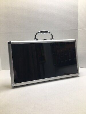 1 Only - 8-12 X 15 X 2 Aluminum Display Case - Glass Front