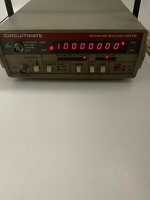 Beckman Emerson Circuitmate Uc10 Universal Counter A2