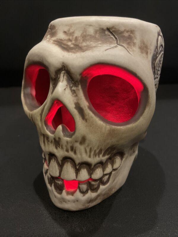 Tiki Diablo L.E Skull Tiki Mug Made For Trader Vic