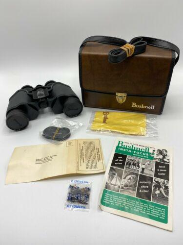 Bushnell Binoculars 7-35 Insta-Focus Wide Angle 500 ft with Case Vintage
