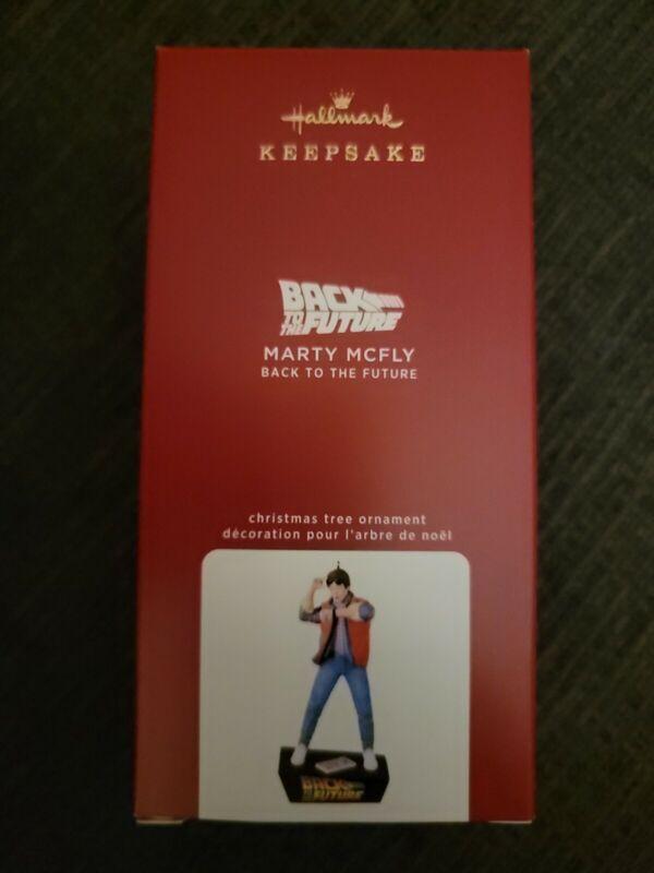 Hallmark 2020 Marty McFly Back to Future Magic Sound Keepsake Xmas Ornament NIB