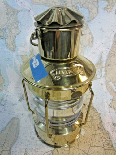BLUEPELICANMARINE - ANKERLICHT BRASS OIL BURNING LAMP ABSOLUTELY BEAUTIFUL!!!
