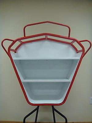 Custom Spray Foam Rig Hose Rack With Shelves