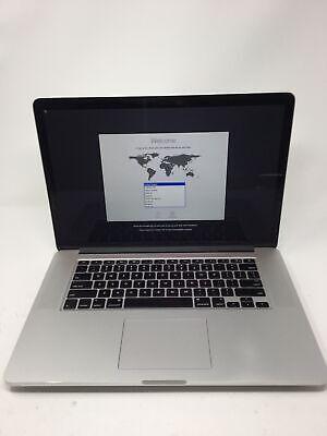 """Apple MacBook Pro 2015 15.4"""" RETINA Laptop MJLQ2LL/A 2.2Ghz i7 16GB RAM 256GB"""