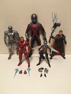 Marvel Legends MCU Lot- BAF Ant-Man & Ultron, Wasp, Iron Man, Thor Infinity War