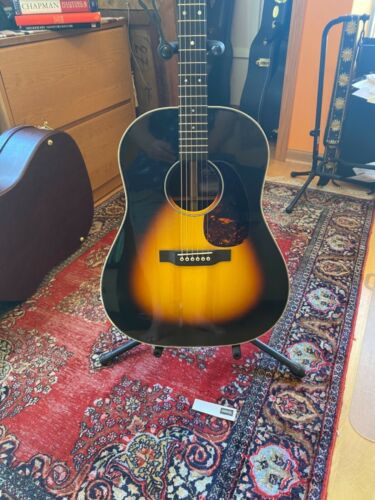 Rare Martin CEO-6 special Edition Acoustic Electric Sunburst Slope Shouldered