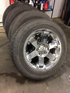 """20"""" Dodge Ram 1500 Wheels- Set of 4-with Tires!"""