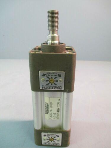 RexRoth Pneumatic Cylinder, 1 1/2 x 1, 200PSI P68174-3010