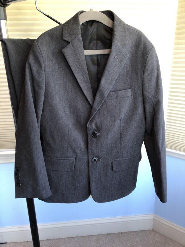 Calvin Klein Boys Suit Size 8, Jacket And Pants