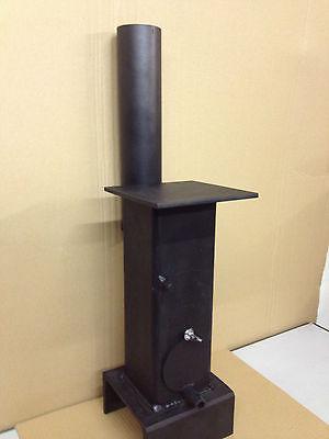 Miniature Mini Coal Wood Burner stove heater shed summerhouse workshop garage