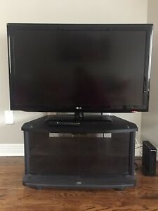 LG LCD 42 INCH TV WITH STAND