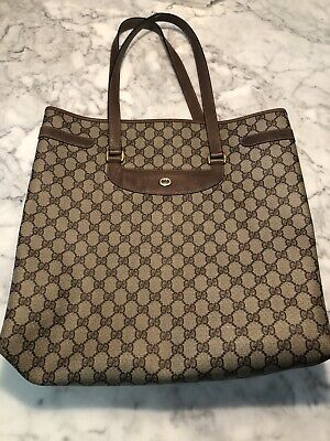 Vintage Gucci Tote Bag 100% Authentic Gucci Tote Bag Purse GREAT CONDITION!