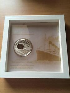 Cook Islands 2012 Windows of History Titanic silver proof coin Clarinda Kingston Area Preview
