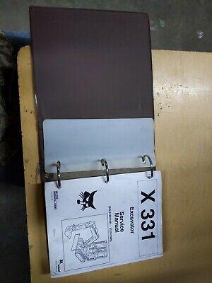 Bobcat 331 Excavator Service Manual