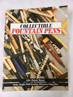 Collectible Fountain Pens Reference Book Collector's Guide