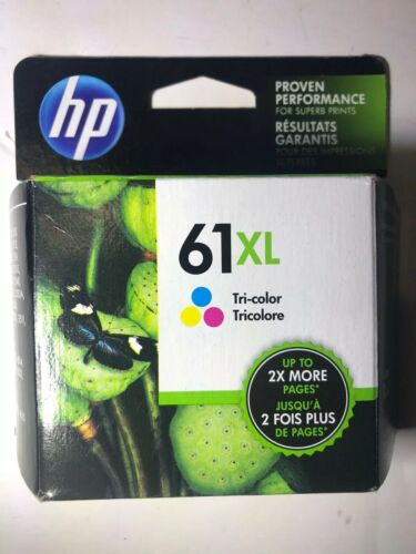 HP 61XL High Yield Tri-color Original Ink Cartridge EXP DEC/