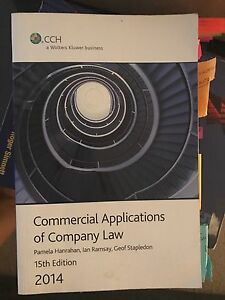 Commercial Applications of Company Law : Pamela Hanrahan, Ian Ramsay Dee Why Manly Area Preview