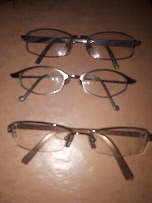 3 Moderne Damenbrillen Brillen Brillengestell schmale Fassung Apollo Optik