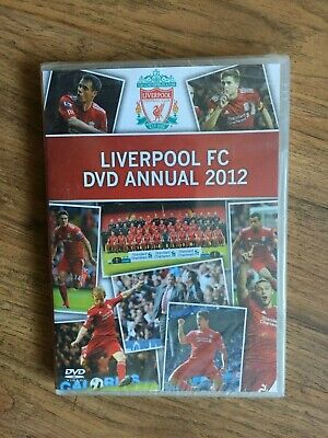 BRAND NEW & SEALED - LIVERPOOL FC DVD ANNUAL 2012