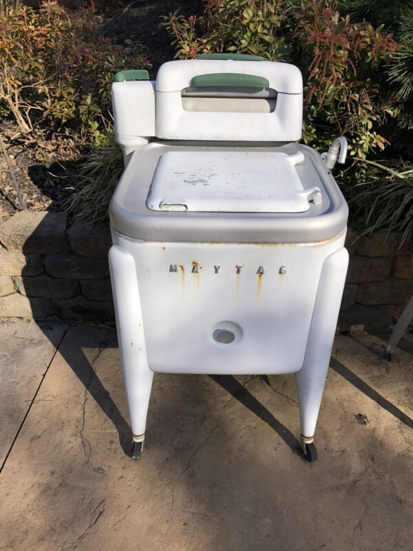 Vintage Antique Maytag Gyratator Wringer Washing Machine Model #EL2