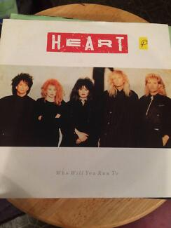 """Heart - Who WIll You Run To - 7"""" Single"""