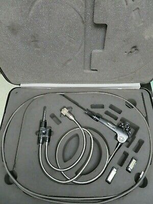 Olympus Iv8c6-75 Video Industrial Fiberscope W Case And Accessories - Ni61