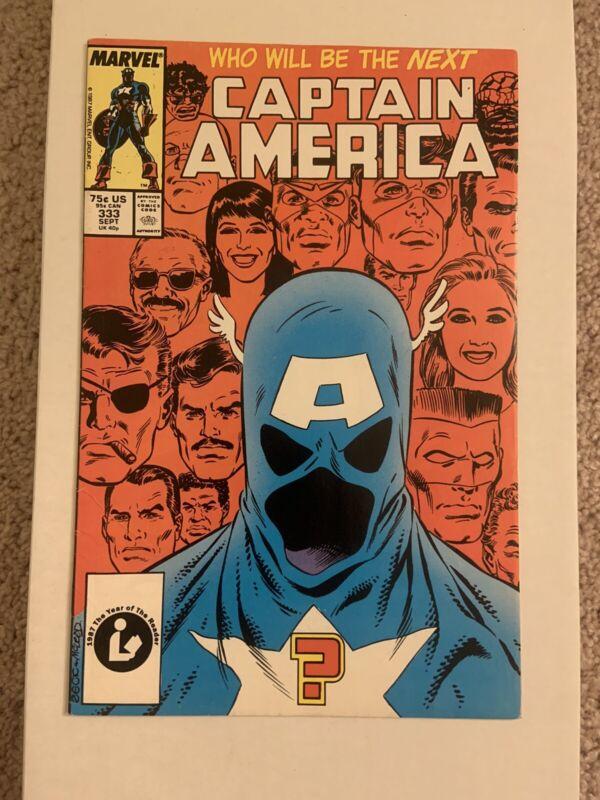 Captain America #333 🔥  First 1st App John Walker As Captain America 🔥 Disney+