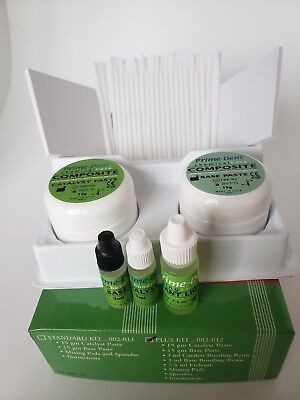 Prime Dent Dental Chemical Self Cure Composite Kit 15gm 15gm. Exp022022