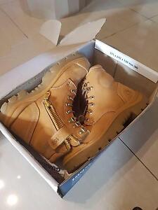 Work boots. Steel Blue Argyle 152  lace up & zip with bump cap Winston Hills Parramatta Area Preview
