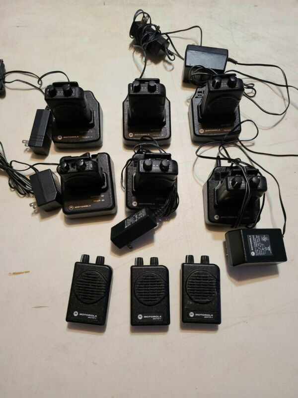 Motorola Monitor V Pager VHF 2 Channel Dual Frequency Lot