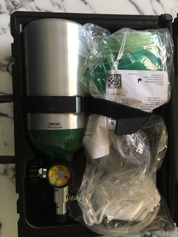 MADA Medical Portable Oxygen Kit, brand new never been used for $200
