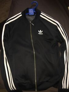 Adidas original zipped up sweater