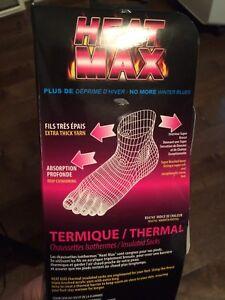New max heat ladies thermal socks