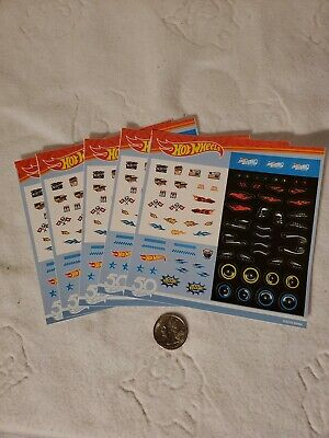 Hot wheels car stickers 5 packs