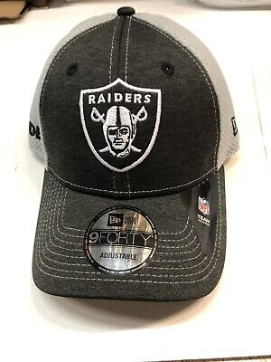 2789141db52cd NFL OAKLAND RAIDERS NEW ERA SURGE STITCHER MEN S ADJUSTABLE HAT