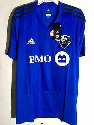 newest collection 77c4f 37f1e Adidas MLS Jersey Montreal Impact Team Blue sz XL