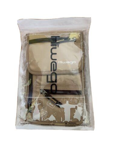 Travel Neck Pouch Hidden Passport Holder Wallet RFID Blocking / Hiwego - $21.20
