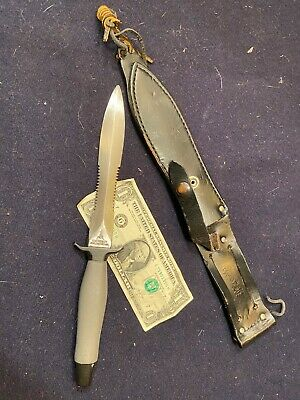1975/76 GERBER MK2 MK II Mark 2 Air Rescue dagger Combat Fighting Knife 53637