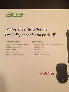 "Brand new acer laptop 15.6"" never opened."