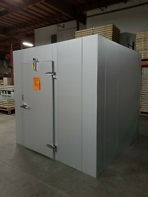 New 8 X 8 X 8 Walk-in Freezer Made In Usa W Remote Refrigeration...9170