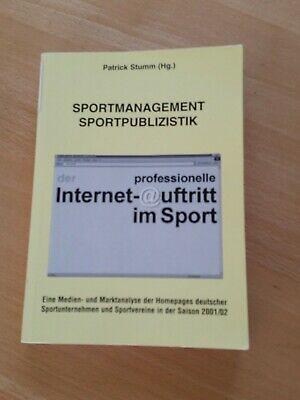 der professionelle Internetauftritt im Sport