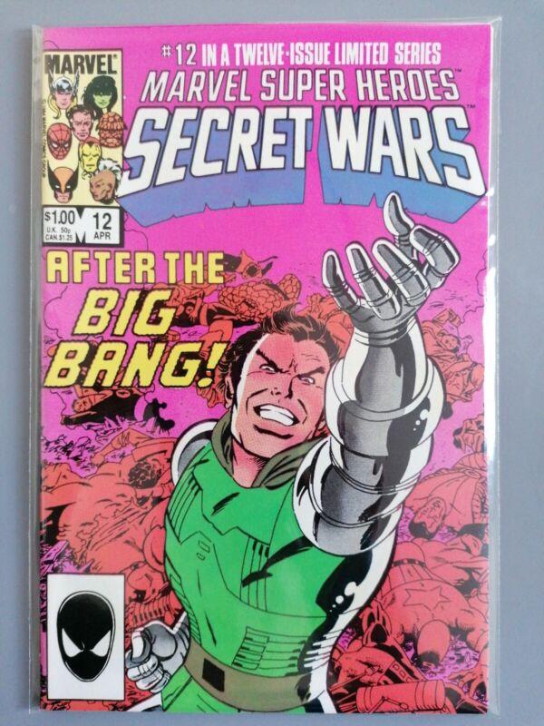 MARVEL SUPER HEROES SECRET WARS Comic - Vol 1 - No 12 - Date 04/1985 - Marvel