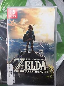 Legend of Zelda Breath of the Wilde New!