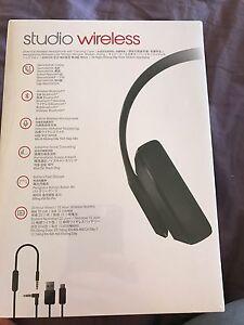 Brand new Beatsstudio wireless headphones-matte black Mooroolbark Yarra Ranges Preview