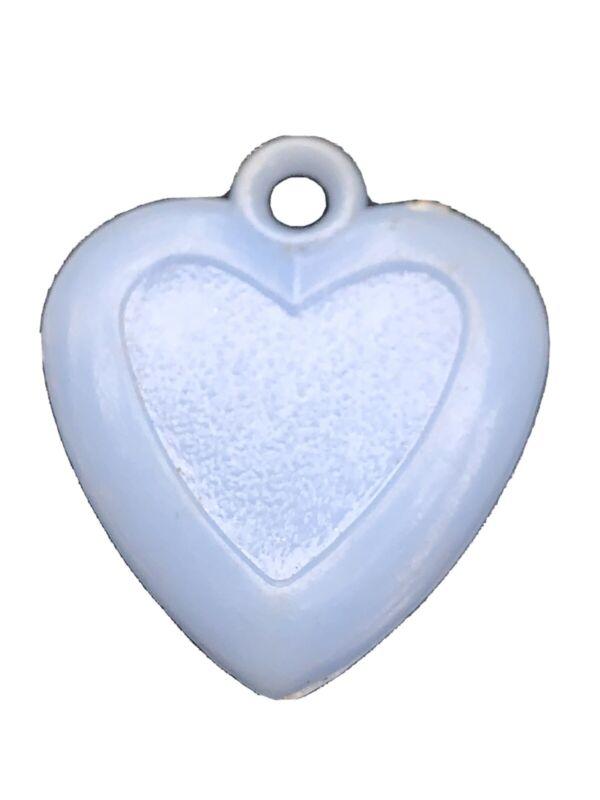 Cracker Jacks Blue Heart Vintage Charm
