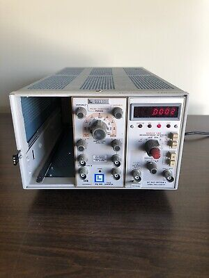 Tektronix Tm 503 With Pg 501 And Dc 502 Option 1 Untested