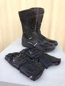 Motor cycle boots. Size 43 Duncraig Joondalup Area Preview